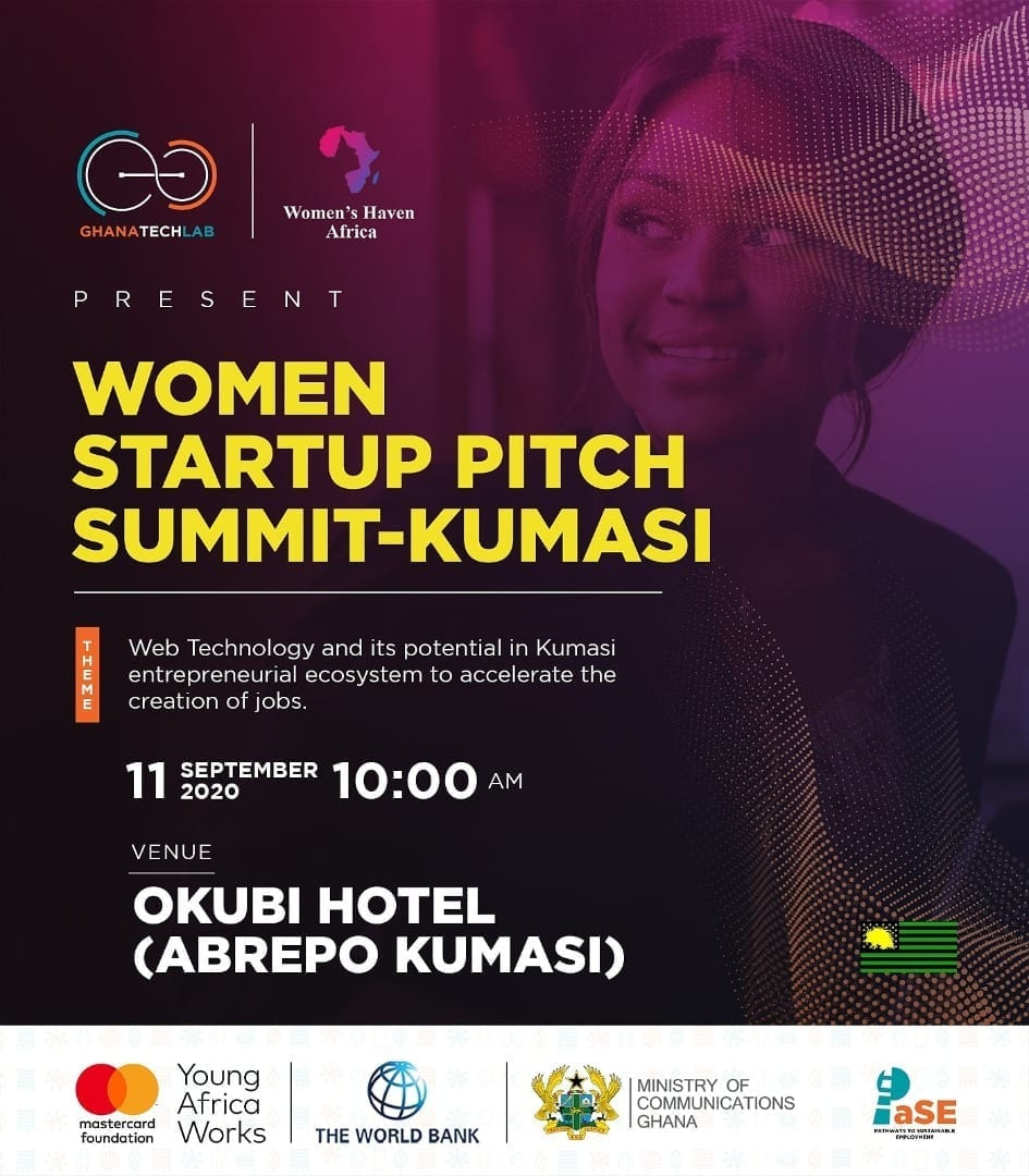 Women's Haven Africa to organise Women Startup Investment Pitch Summit