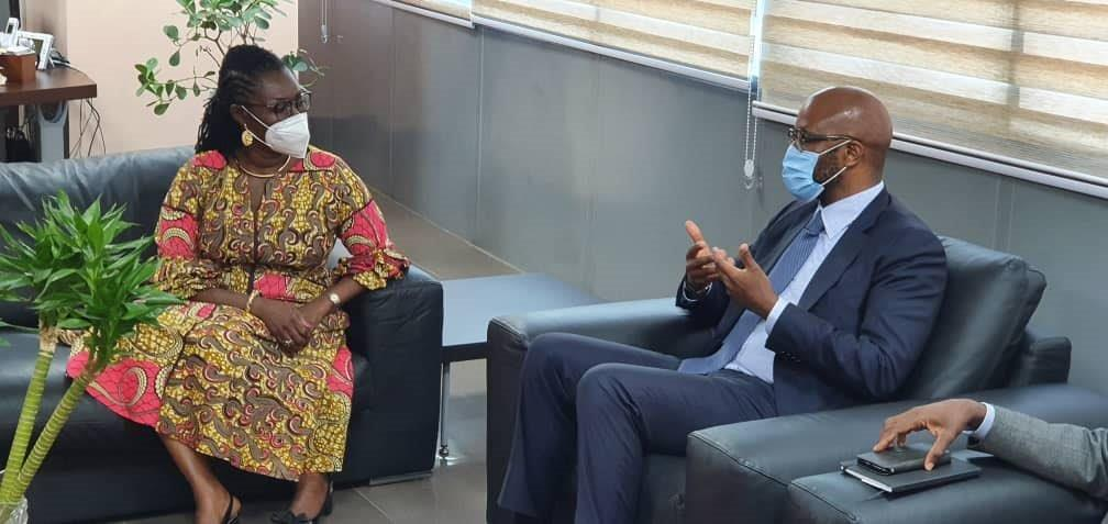 MTN Group President & CEO Ralph Mupita  engages Minister for Communications