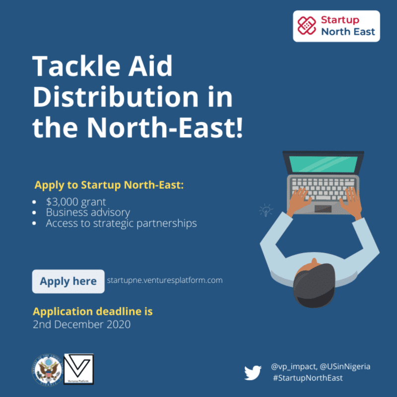 Ventures Platform Foundation launches applications for Start Up North East