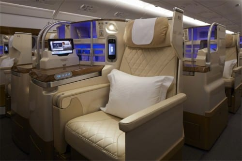 Refreshed A380 Business Class