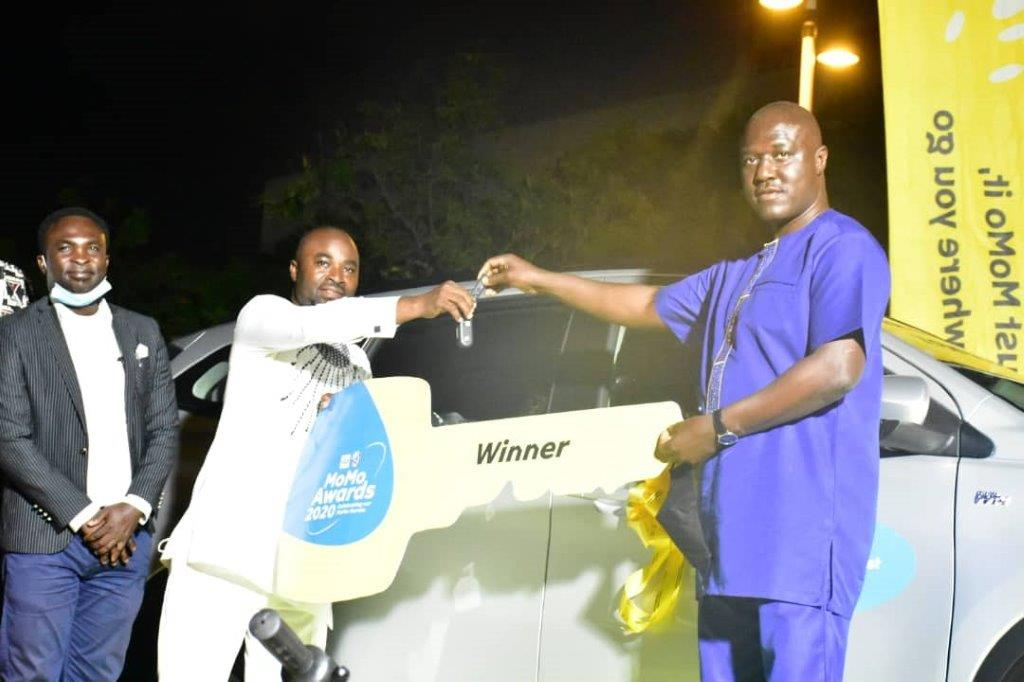 MTN awards MoMo agents for their outstanding work despite the pandemic