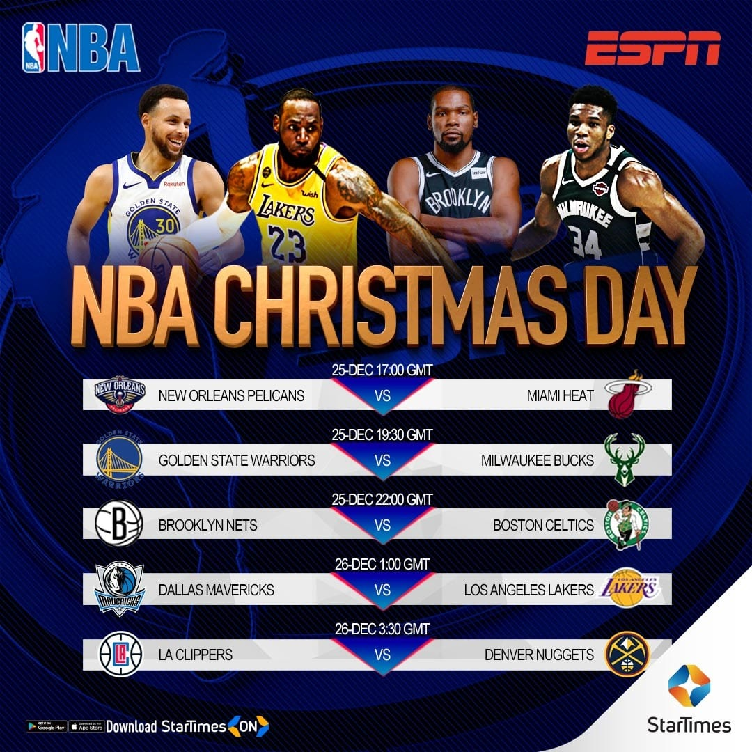 Watch NBA on ESPN with StarTimes: Who can challenge Los Angeles?