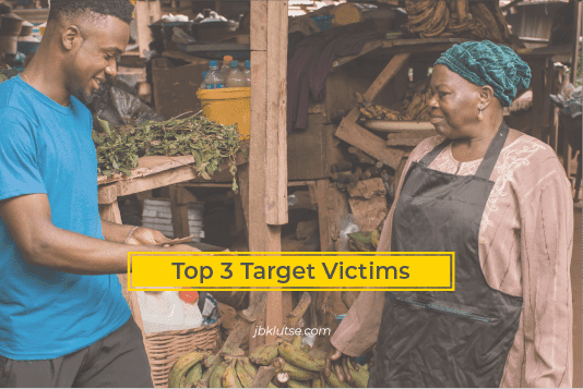 target victims of Mobile Money fraudsters