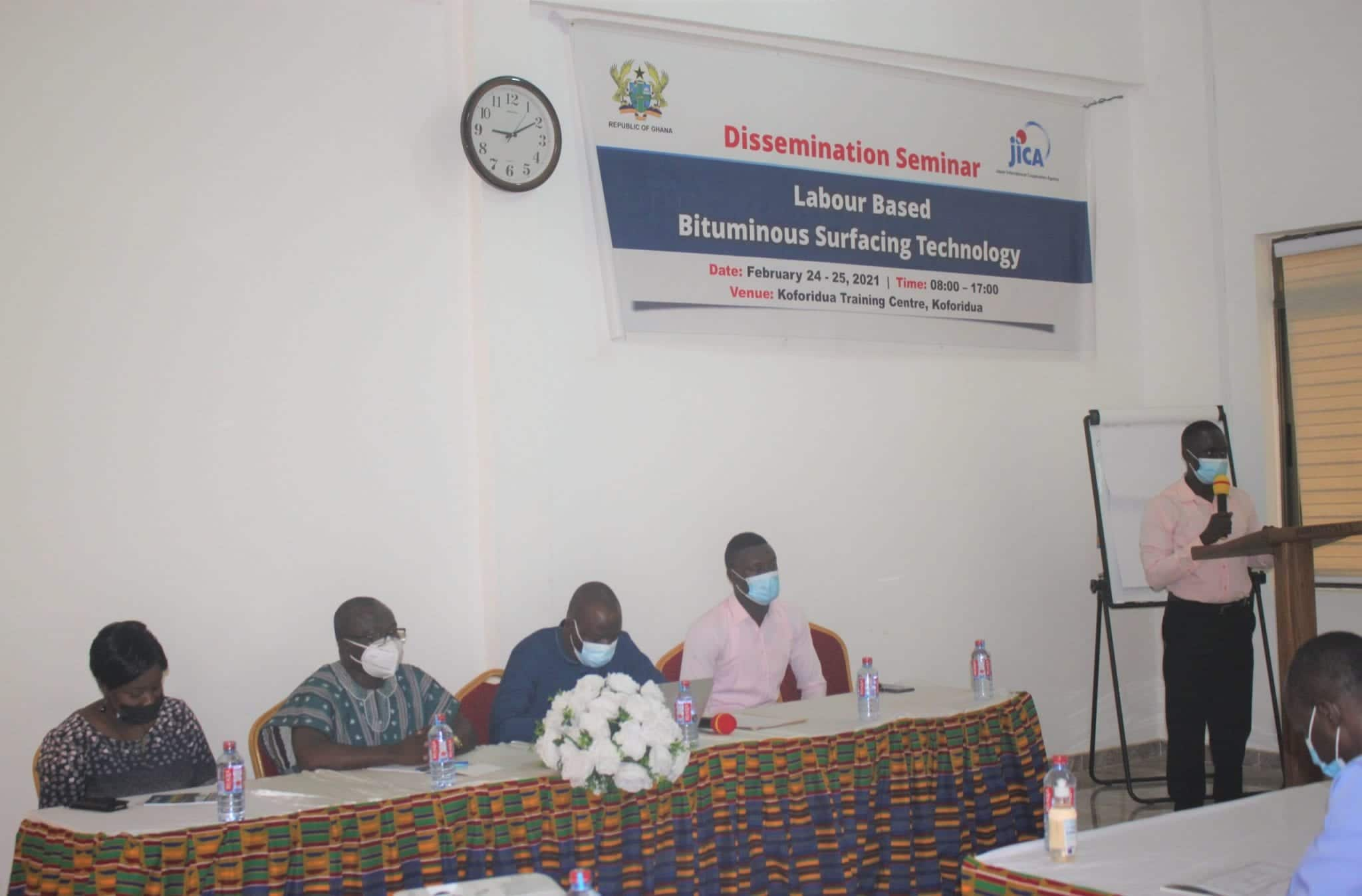 JICA and Ministry of Local Government organize dissemination seminar for district engineers