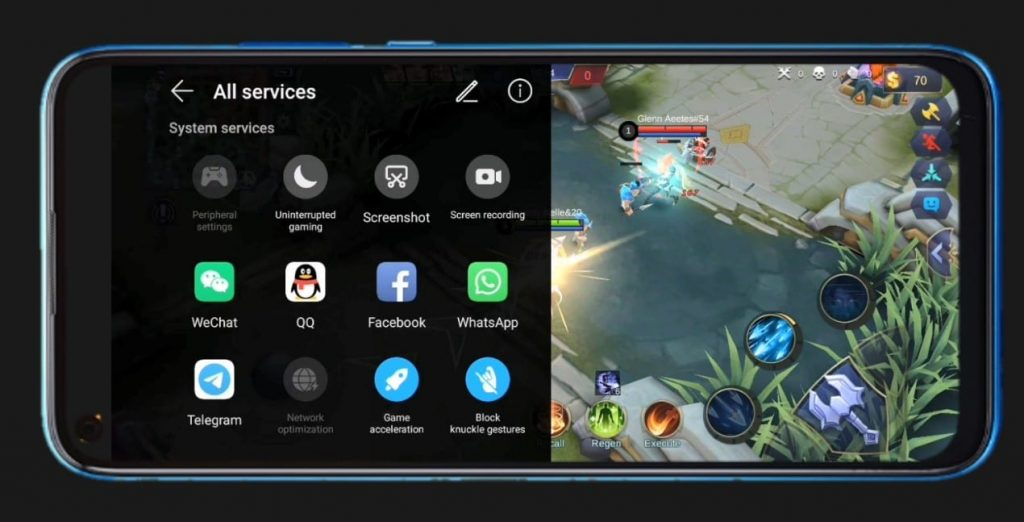 HUAWEI nova 7i mobile gamers' secret weapon