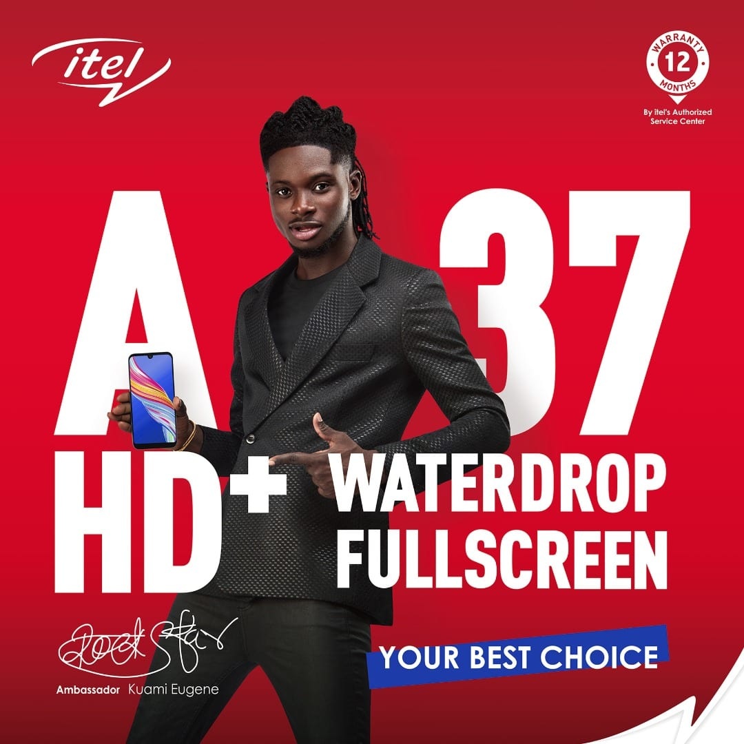 itel introduces its latest A37 smartphone in Ghana