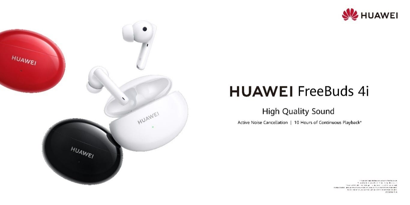 Huawei launches the Huawei FreeBuds 4i in Ghana with Preorder starting soon!