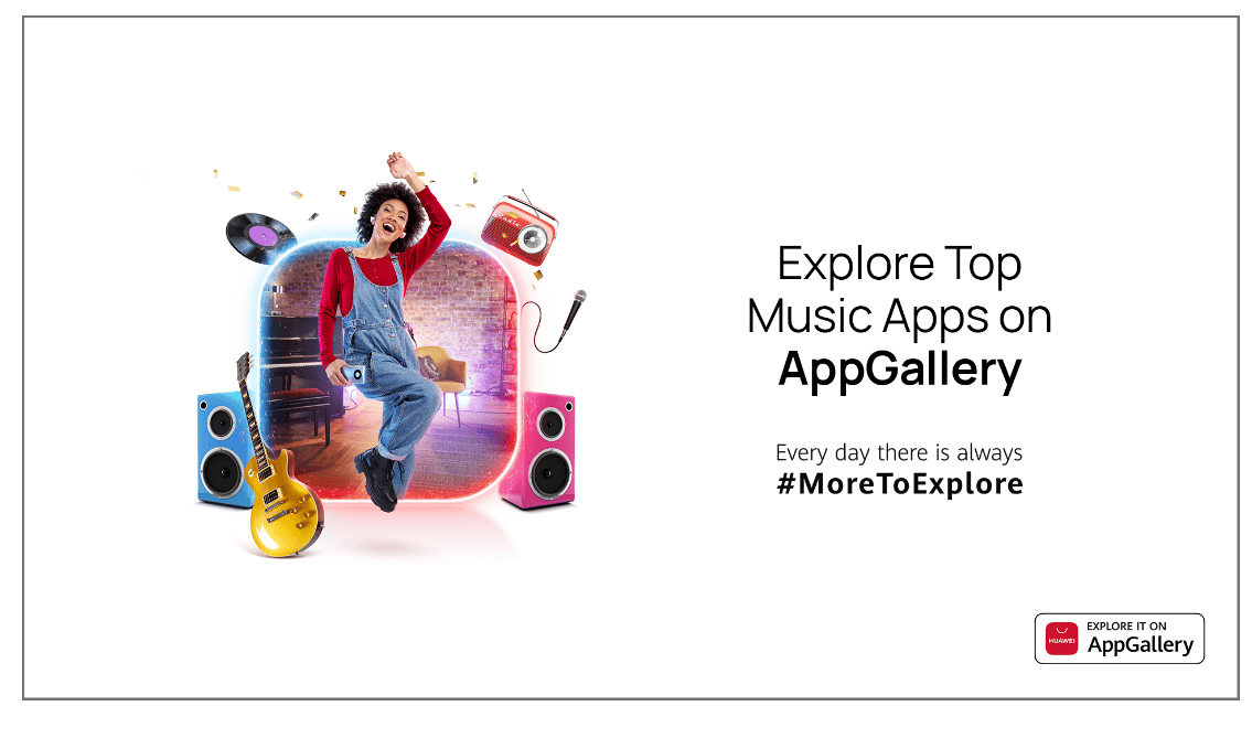 Everyday can be World Music Day with these popular music apps from Huawei AppGallery