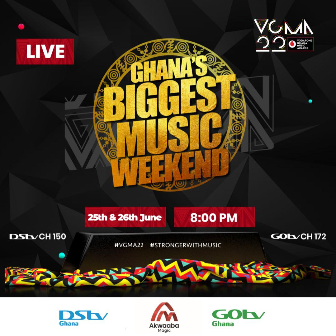 The Glitz, The Glam and The VGMA Live on Akwaaba Magic This Weekend