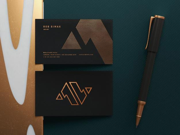 Steps to follow when preparing to design business cards