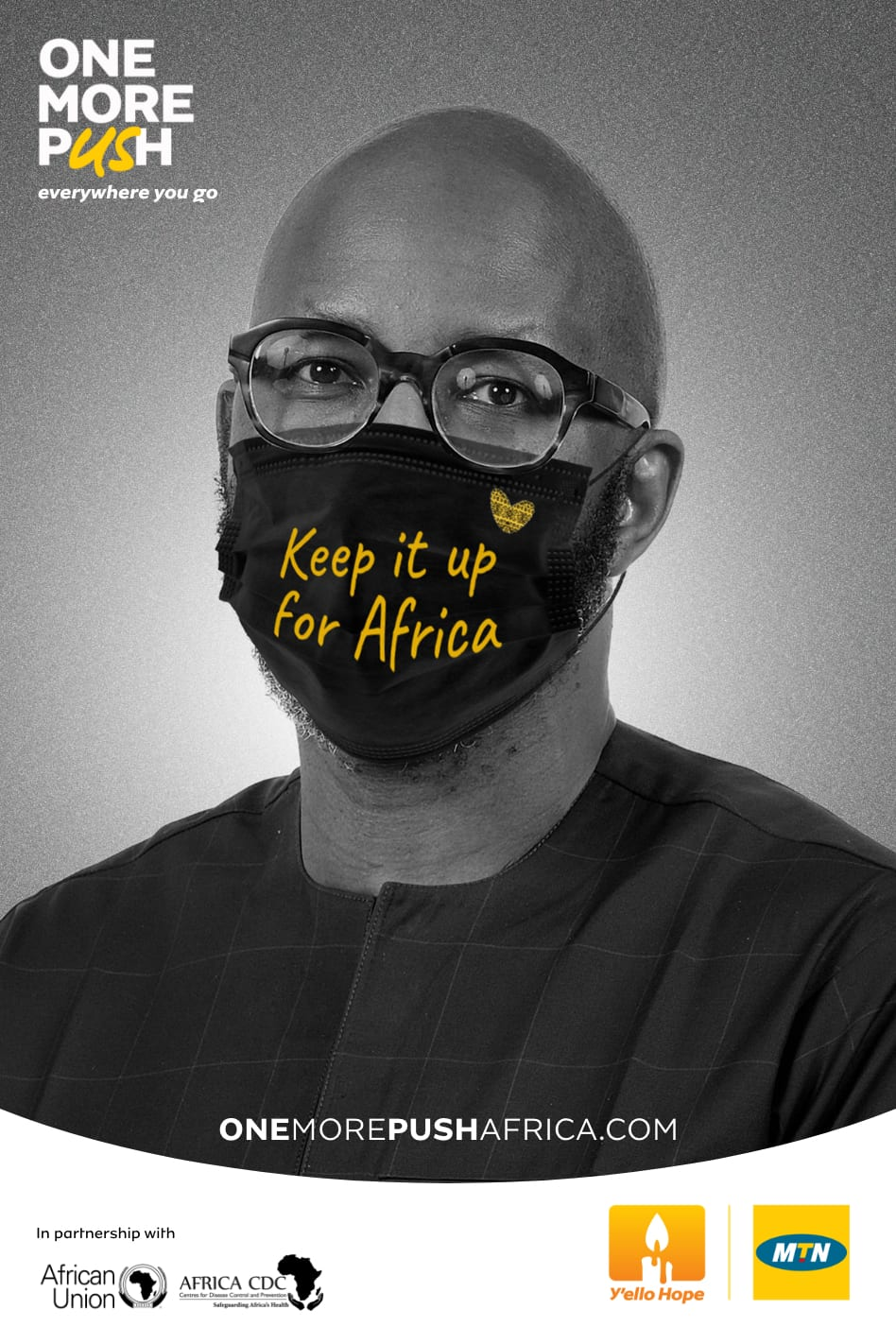 """Africa CDC and MTN accelerate fight against COVID-19 with """"One More Push"""" campaign"""