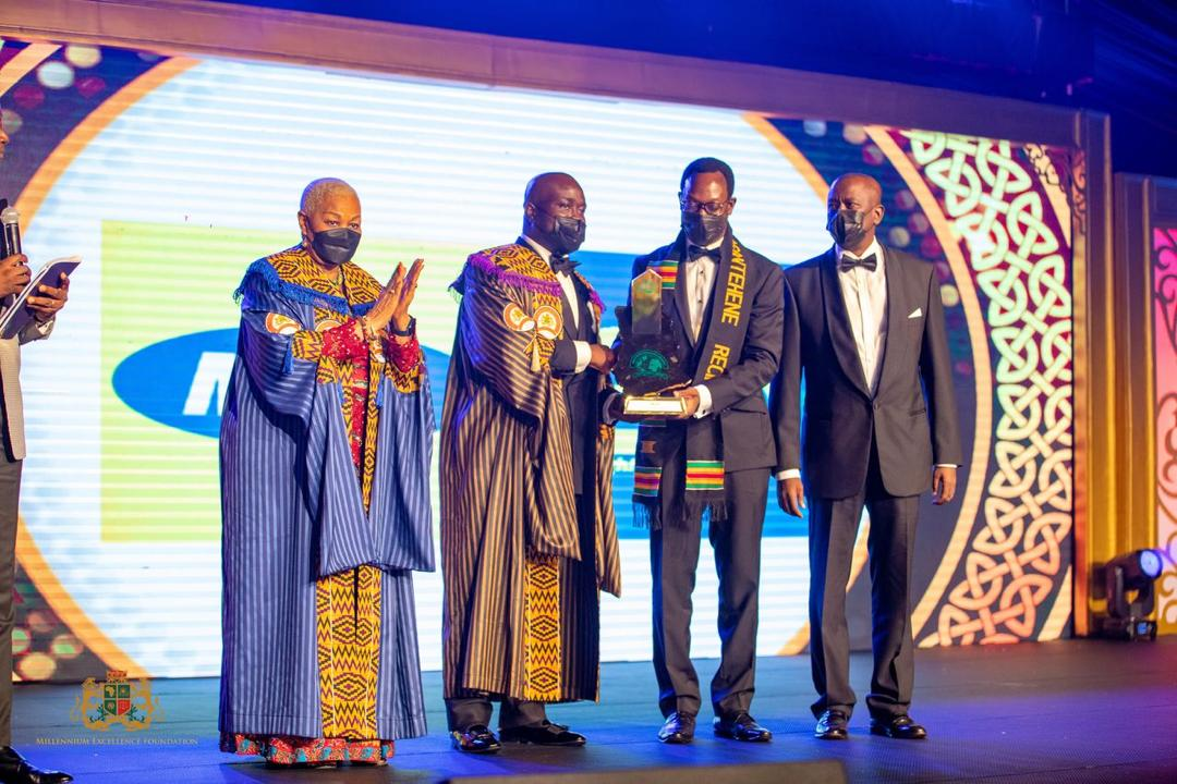 MTN Ghana adjudged Business of the Decade by Millenium Excellence Foundation