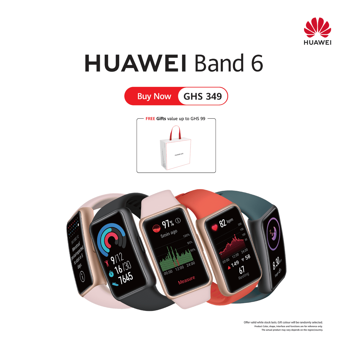 Huawei's all new smart band, Huawei Band 6 brings together Key smartwatch features and doesn't break the bank!