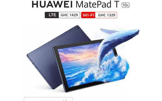 The HUAWEI MatePad T 10s; Effortless entertainment at an affordable price!