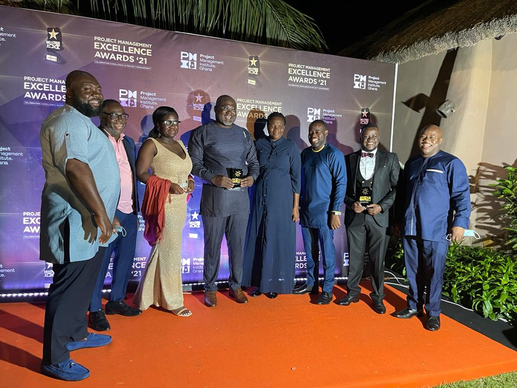MTN Ghana grabs three awards at the Project Management Excellence Awards