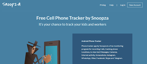 Review the Snoopza Free Invisible Keylogger for Android