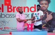 Itel signs Kuami Eugene as their brand ambassador for the third time