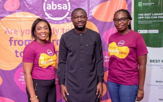 Ghana Library and Absa Bank opens application for ReadytoWork e-learning project