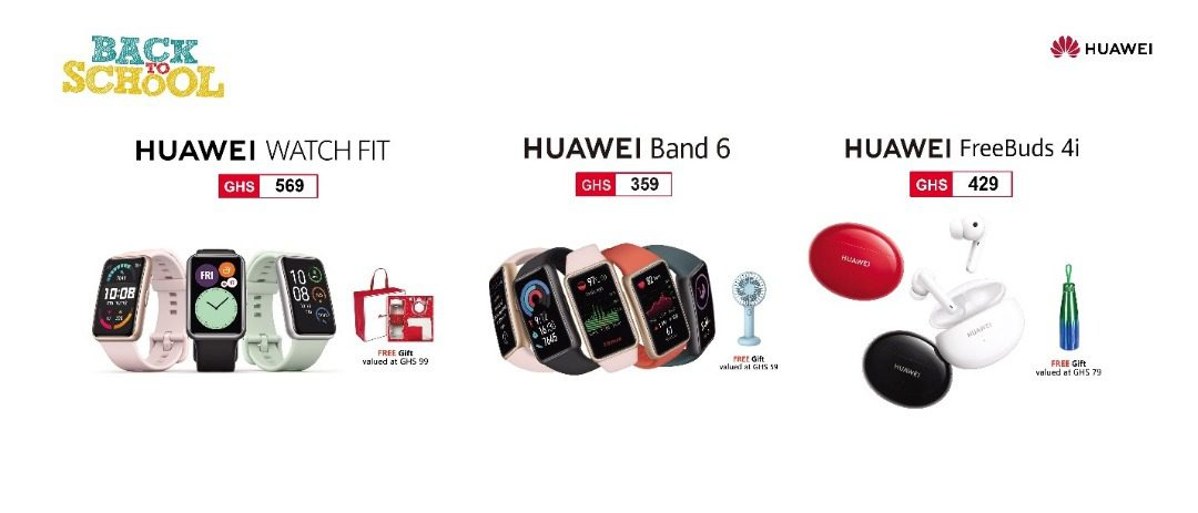 Get the best deals and offers with the Huawei Back to School promo