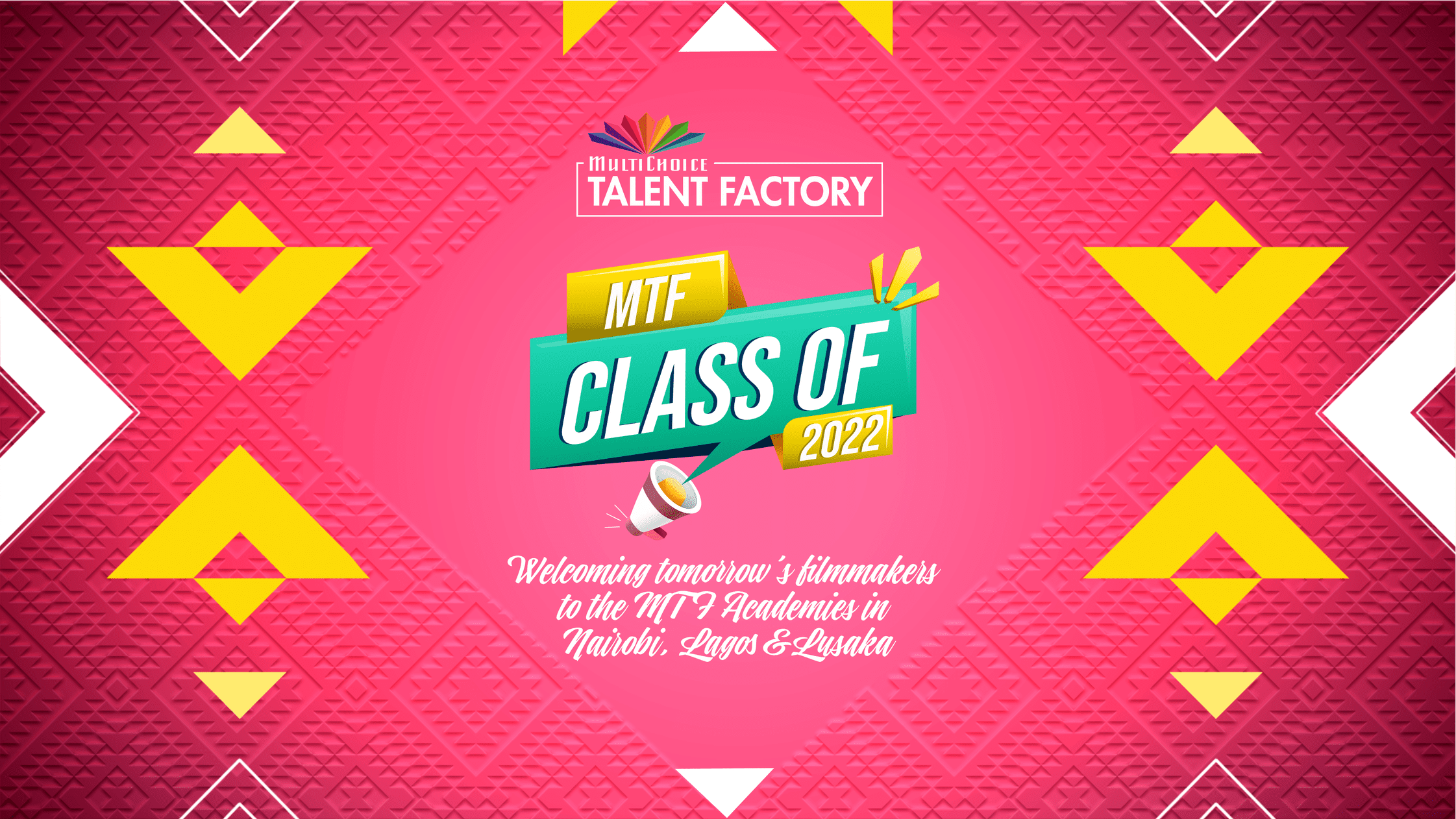Meet the MultiChoice Talent Factory 60 new students for the 12-month fully-funded academic programme