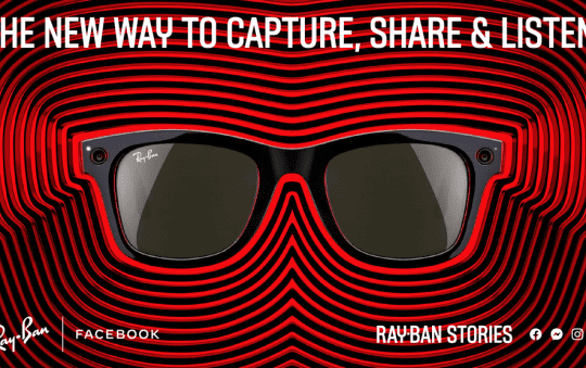 Ray-Ban and Facebook launch 'Ray-Ban Stories' smart glasses