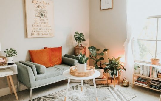 What is the best way to decorate a living room?